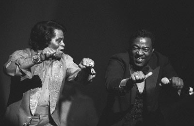 James Brown and Bobby Byrd