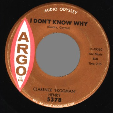 I Don't Know Why I Love You (But I Do) 45rpm