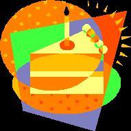 November Slice of Birthday Cake