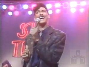 With DeBarge on Soul Train #550
