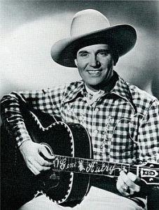 Orvon Gene Autry (September 29, 1907 – October 2, 1998) The Singing Cowboy